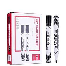 <b>deli</b> WU00120 <b>Dry Erase Whiteboard</b> Marker - Pack of 24, Black ...
