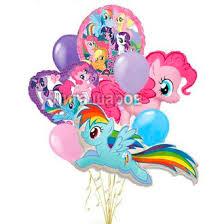 "<b>Букет</b> из <b>шаров</b> ""С <b>днем</b> рождения"" My Little Pony"