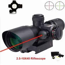 Hunting Tactical <b>Optics</b> Riflescope <b>ACOG</b> Type <b>1x32</b> Red Green Dot ...