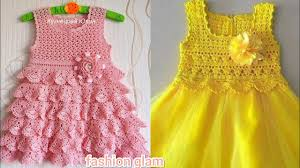 beautiful crochet <b>toddler baby</b> frocks designs <b>2019</b> - YouTube