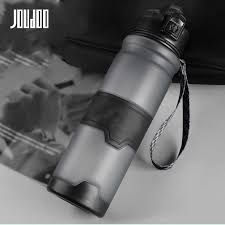 JOUDOO 700ml <b>1000ml Portable</b> Glass Water Bottles <b>Outdoor</b> ...