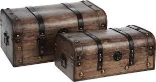 <b>Набор сундуков для хранения</b> вещей, 2 шт. EH-A587 — купить в ...