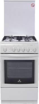 Купить Газовая плита <b>DE LUXE 506040.01г чр</b> духовка, белый в ...