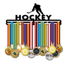 Hockey <b>medal hanger</b> Sport <b>medal display</b> rack <b>Medal holder</b> 40cm ...