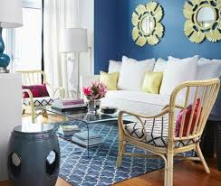 stylish blue and yellow living room blue yellow living room