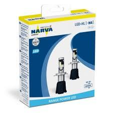 <b>Лампа</b> светодиодная <b>Narva</b> H4 LED 6000K <b>Range Power</b> 2 шт ...