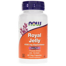 <b>Royal Jelly 1500 Mg</b>, NOW Foods