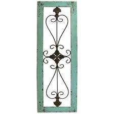 metal wall decor shop hobby: turquoise framed metal wall decor   turquoise framed metal wall decor