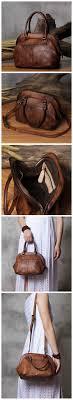 <b>Handmade Genuine Leather</b> Women's Fashion Tote Handbag ...