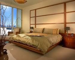 zen bedroom set white wall