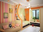 Дизайн интерьера детской комнаты для двоих