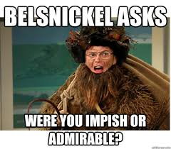 Belsnickel asks were you impish or admirable? - Belsnickel Dwight ... via Relatably.com