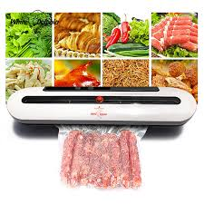 White Dolphin <b>Vacuum Food Sealer</b> 110V 220V <b>Electric</b> Household ...