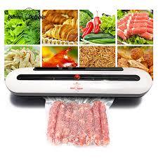 White Dolphin <b>Vacuum Food Sealer</b> 110V 220V <b>Electric</b> Household ...