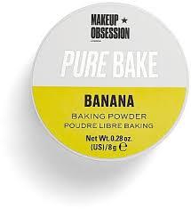 Makeup Obsession Pure <b>Bake Baking Powder Banana</b> ...