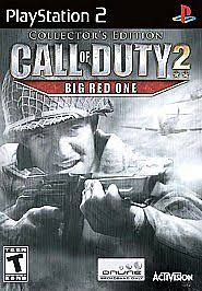 Call of Duty 2: Big <b>Red One</b> (Collector's Edition) (Sony PlayStation 2 ...
