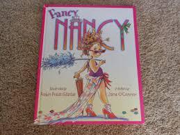 why i love fancy nancy a book review fancy