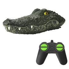 <b>MX</b>-<b>0030 2.4G 4</b>-<b>Channel</b> Simulation Crocodile Animal RC Boat Toy