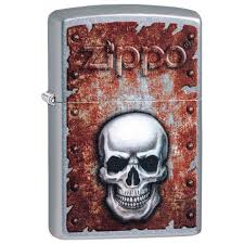 Зажигалка Zippo 207 Rusted Skull Design ... - ROZETKA