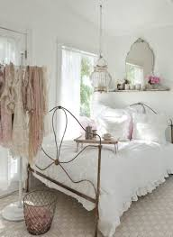 bedroom extraordinary white cloth hook ideas beside traditional steel bed design also impressive hanging lamp tags for choose shabby chic bedroom ideas shabby chic
