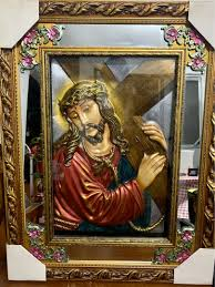 <b>Antique</b>-<b>Style JESUS CHRIST</b> Decorative Picture Wall Frame ...