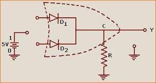 logic gate   physics astronomy project topicscircuit diagram  logic gate
