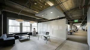 captivating and creative office space idea with white cupboard as room divider and black sofa set black sofa set office