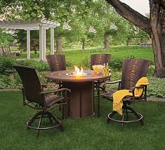 3rd best fire pit patio set of 2013 balcony height patio dining furniture