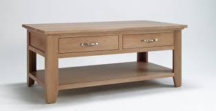 Light Oak Living Room Furniture Oak Coffee Table With Drawers Light Oak Rustic Living Room