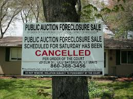 Image result for picture with sign foreclosure cancelled