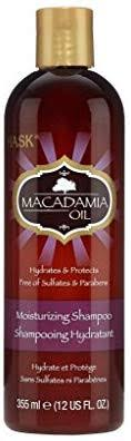 <b>HASK</b> Hydrating Shampoo with <b>Macadamia</b> Oil 355 ml: Amazon.co ...