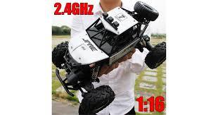 4WD <b>RC Monster Truck</b> Off-Road Vehicle <b>2.4G Remote Control</b> ...