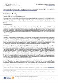 hcs leadership style paper quot   anti essays   dec  angie goodinghcs   leadership style paper      james morelloleadership style paper what