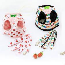<b>Venxuis</b> Breathable Strawberry <b>Dog</b> Harness Vest Nylon Cartoon ...