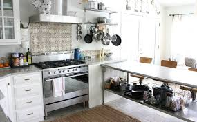 stainless kitchen work table:  similar to a kitchen island the work table with stainless steel