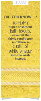 best ideas about cleaning tips tricks cleaning for fluffy absorbent bath towels leave out the fabric conditioner and add a cup