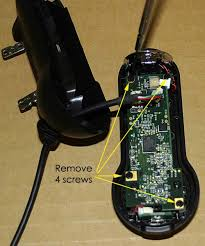 instructions for converting logitech quickcam pro 9000 webcam for step 10 lift circuit board off housing half