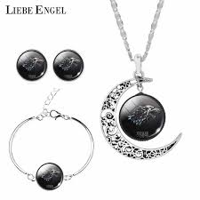 2019 LIEBE ENGEL <b>Hot Sale Game Of</b> Thrones Jewelry Sets For ...