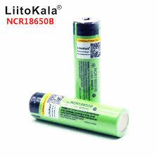 Hot <b>liitokala</b> 100% <b>New Original</b> NCR18650B 3.7 v 3400 mah 18650 ...