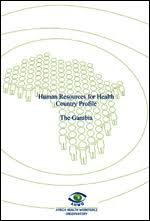 WHO | <b>Human</b> Resources for Health Country <b>Profile</b>, The Gambia