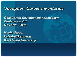 chapter  promoting educational and career planning in schools  vocopher career inventories ohio career development association conference oh nov 18 th 2005
