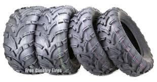 Set 4 Premium <b>WANDA</b> ATV/UTV tires 25x8-<b>12 25x8x12</b> Front ...