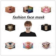 1pc funny <b>digital printing protective</b> adjustable <b>mask</b>,joker <b>masks</b> ...
