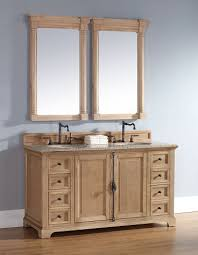 furniture quot solid wood bathroom vanity: natural  providence  unfinished bathroom vanity in natural oak    from