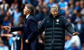 Résumé Arsenal Manchester City vidéo buts Milner, Dzeko (0 2)