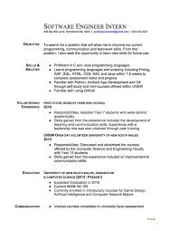 music resume sample with professional history as senior