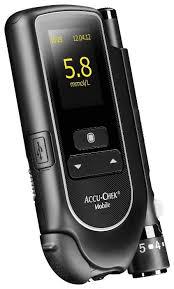 Купить <b>Глюкометр Accu-Chek Mobile</b> черный по низкой цене с ...
