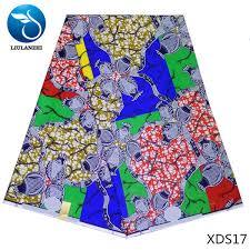 2019 <b>LIULANZHI African Wax Print Fabric</b> 100% Cotton Ankara ...