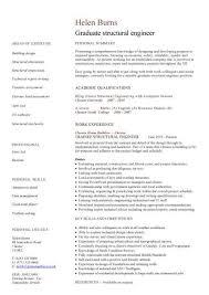 engineering cv template  engineer  manufacturing  resume  industry    graduate structural engineer cv