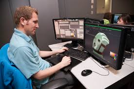 for byu animation graduates industry job opportunities scarce garrett hoyos works on one of his projects in the animation department